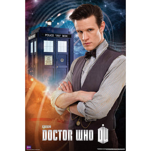 Doctor Who- Poster Matt Smith 11th Doctor