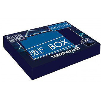 Doctor Who Tardis Wallet with gift box