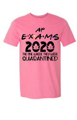 2020 AP Exam Commemorative Shirt