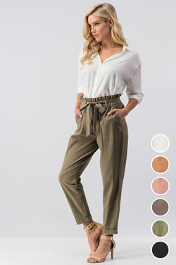 Cotton Cuffed Pant