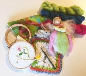 April Vacation: Crochet and Embroidery Workshop