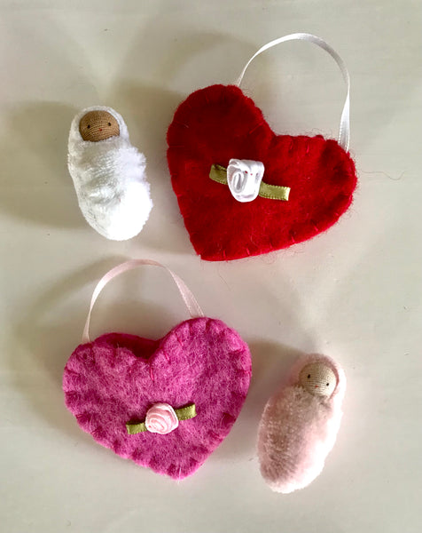 Heart Ornament / Pocket Doll
