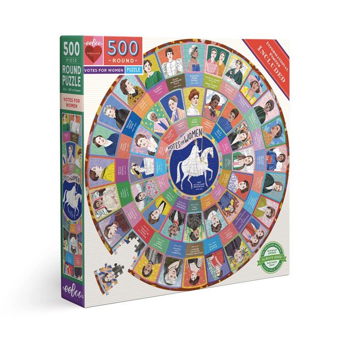 Votes for Women : 500-Piece Round Puzzle