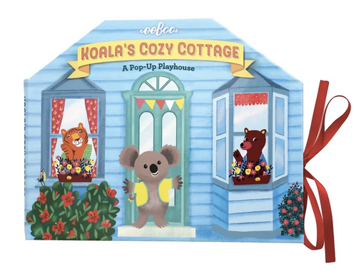 Koala's Cozy Cottage : A Pop-Up Playhouse
