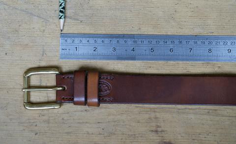 Leaf Leather Choosing your belt length