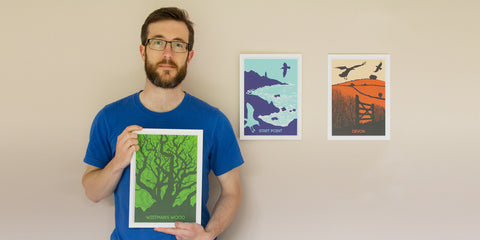 Jon Stubington Illustrator Gifts from Dartmoor