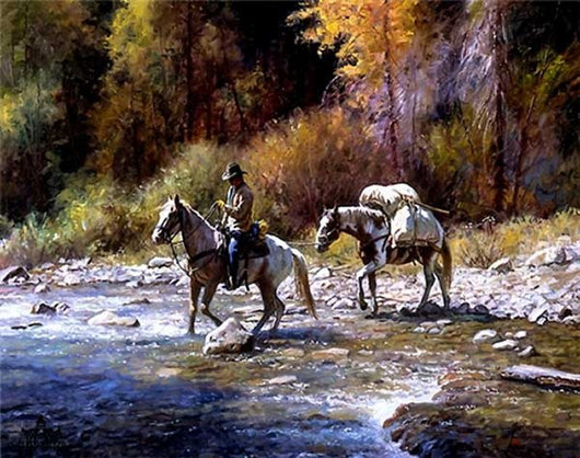 A Good Crossing by Martin Grelle 20*24