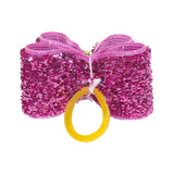 Colorful Shinning Dog hair bow - 20/50 or 100 Pcs