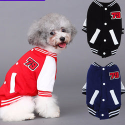 Baseball Dog Jackets