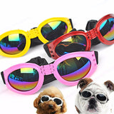 Waterproof Fold able Sunglasses for Medium & Large Dogs - 1 Pcs