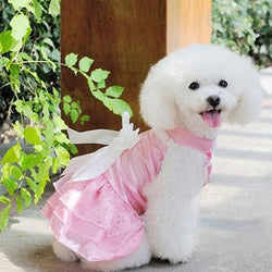 Floral Princess Costume Dog Dress
