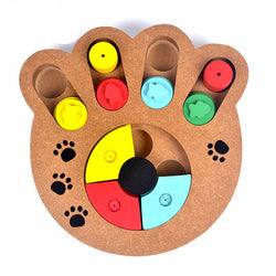 Eco-friendly & Educational Dog paw puzzle toys - 1 Pcs only