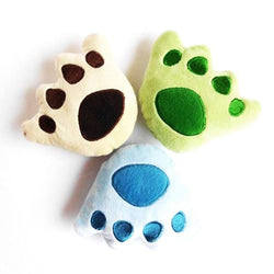 Bear Paw Plush squeaky Chewy dog Toy