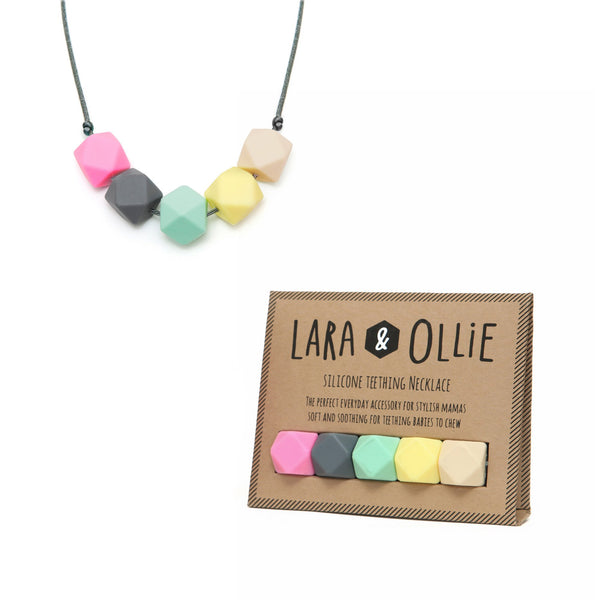 Lara & Ollie Bella teething necklace - scandibornusa