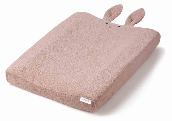 Liewood Egon Changing Mat Cover in Rabbit Rose - scandibornusa