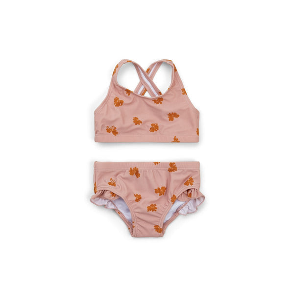 Liewood Juliet Bikini in Sprout Rose - scandibornusa