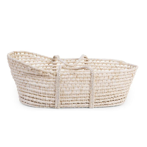 Childhome Moses Basket in Natural with Mattress - scandibornusa