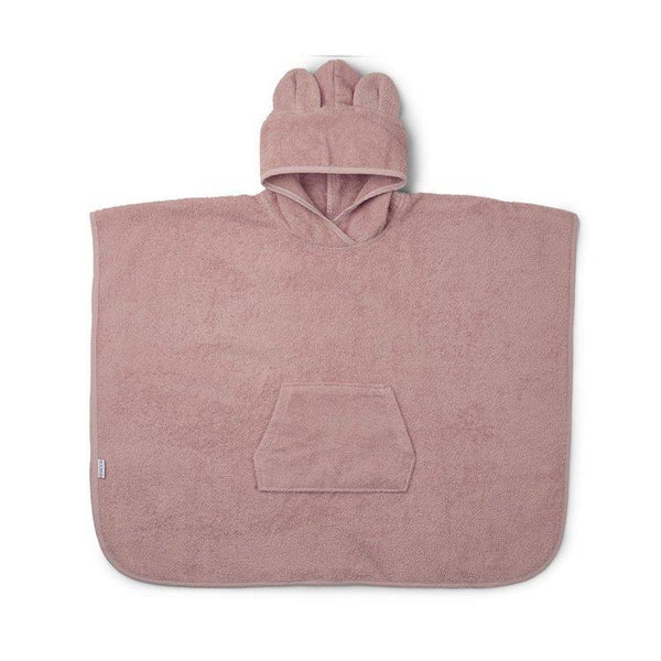 Liewood Orla Poncho Mr Bear Rose - scandibornusa
