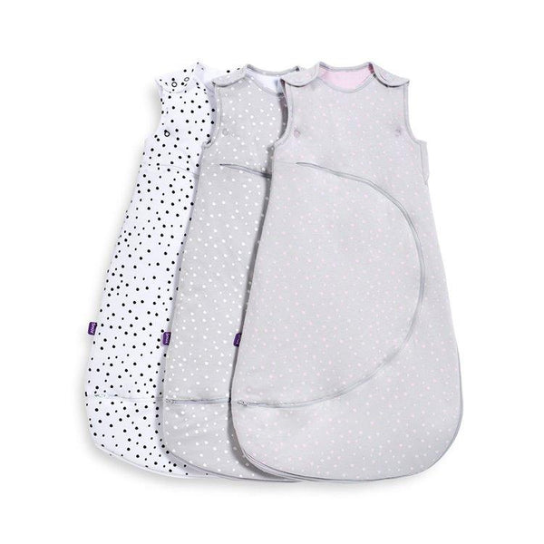 SnuzPouch Sleeping Bag in Spots - Mono