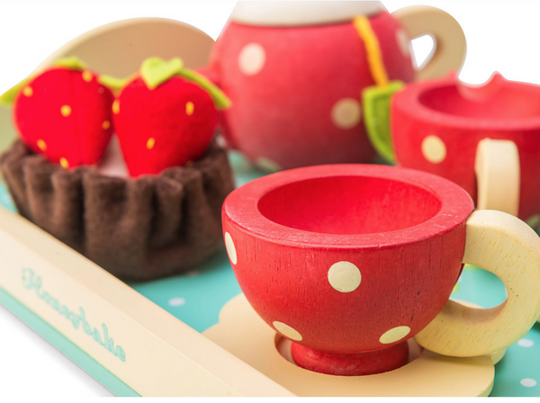Le Toy Van Honeybake Tea Set - scandibornusa