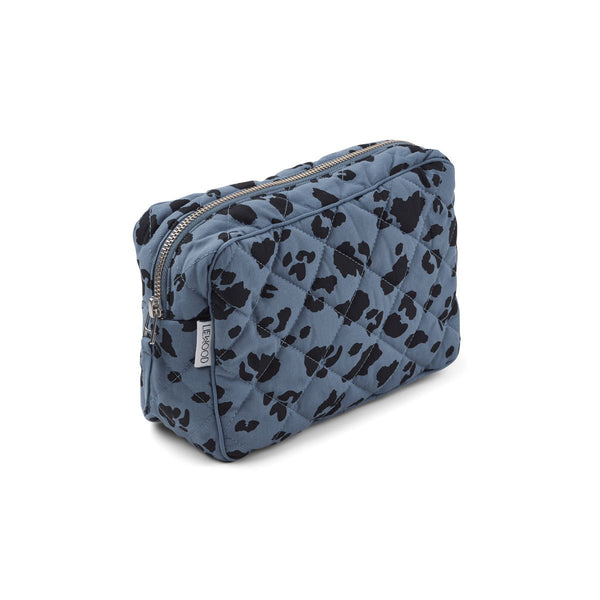 Liewood Claudia Toiletry Bag in Leo Blue Wave - scandibornusa