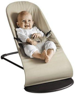 BabyBjorn Bouncer Balance Soft - Dark Grey / Grey Cotton