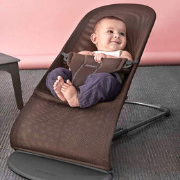 BabyBjorn Bouncer Bliss - Anthracite / Mesh