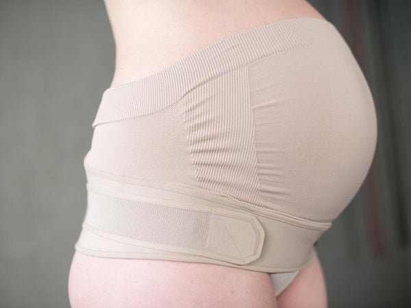 bbhugme Maternity Support Belt in Dusty Pink