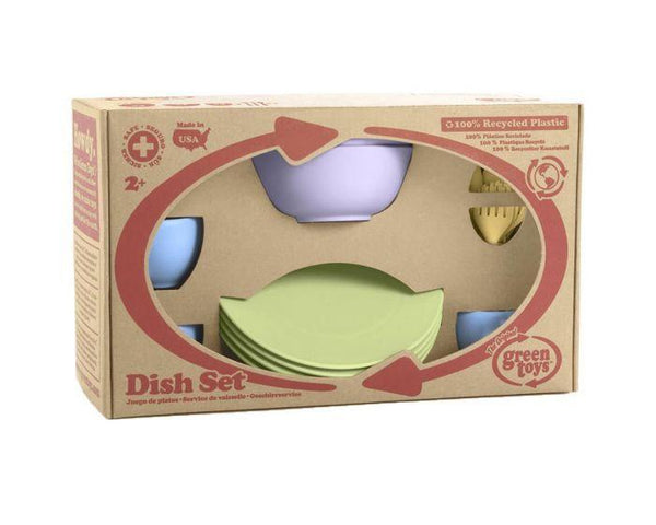 Bigjigs Cookware and Dining Set