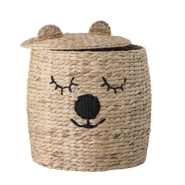 Bloomingville Bear Nature Basket w/lid