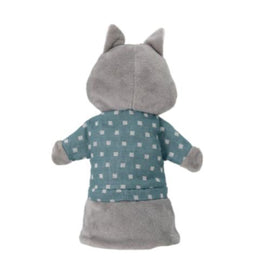 Bloomingville - Cecilie Hand Puppet - Raccoon in Grey