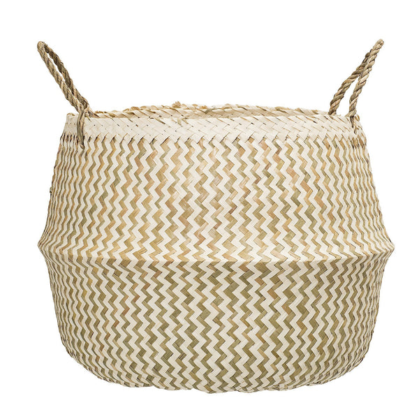 Bloomingville Seagrass Basket in Natural