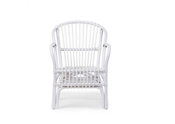 Childhome Montana Kids Chair White with Cushion