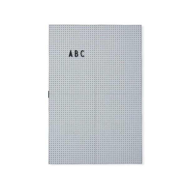 Design Letters - Message Board in Light Grey