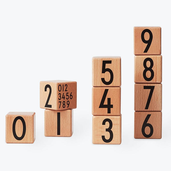 Design Letters - Number Cubes in Natural