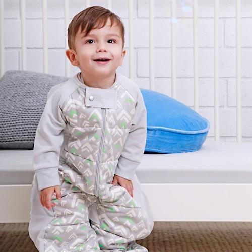 ErgoPouch Sleep Suit Bag in Grey Mountains (2.5 Tog)