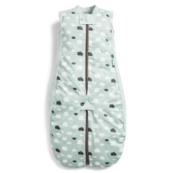 ErgoPouch Sleep Suit Bag in Mint Clouds (0.3 Tog)