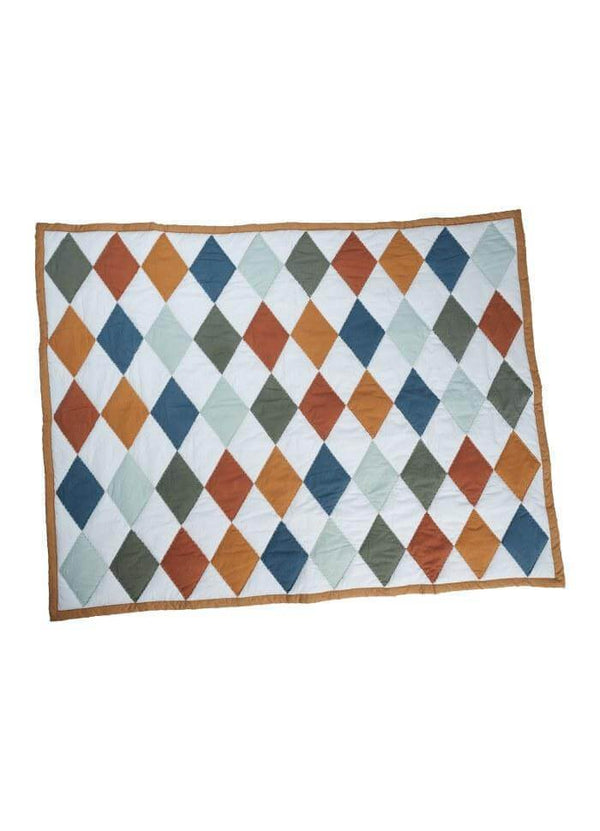 Fabelab Blanket Patchwork Diamond