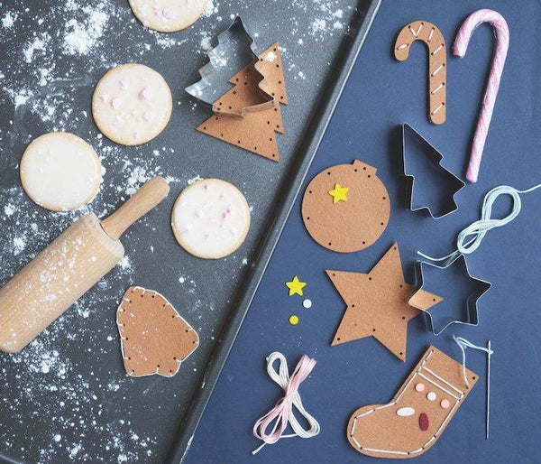 Fabelab Ornament Craft Set - Gingerbread Cookie