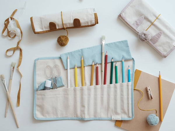 Fabelab Roll Up Pencil Case - Cat