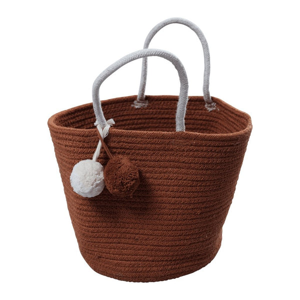 Fabelab Rope Basket in Cinnamon