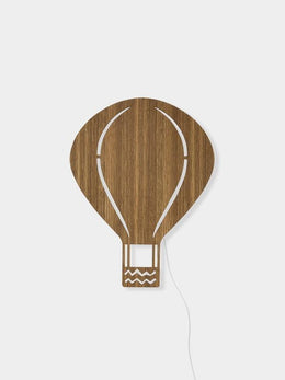 Ferm Living Air Balloon Lamp - Smoked Oak