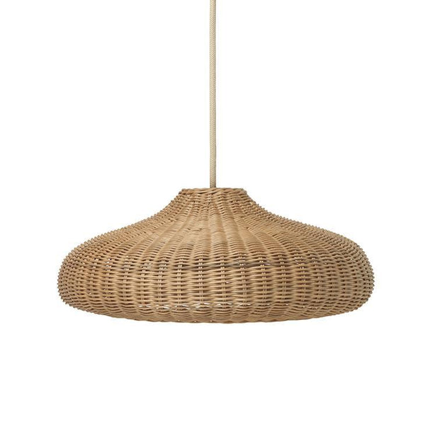 Ferm Living Braided Lampshade in Natural
