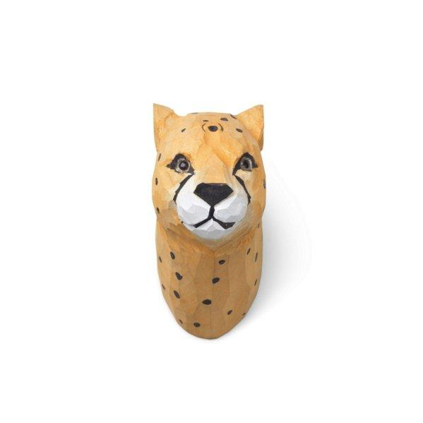 Ferm Living Carved Animal Wall Hooks - Cheetah