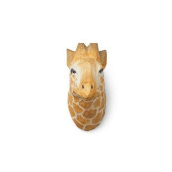 Ferm Living Carved Animal Wall Hooks - Giraffe