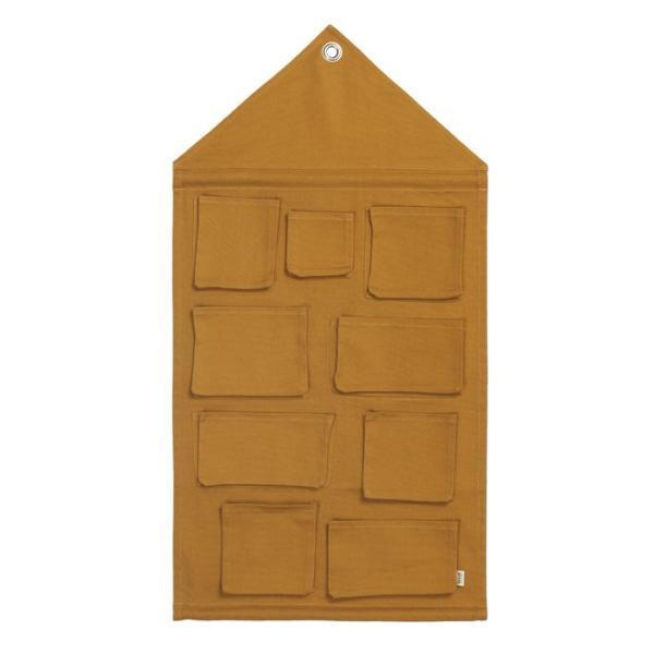 Ferm Living House Wall Storage Mustard