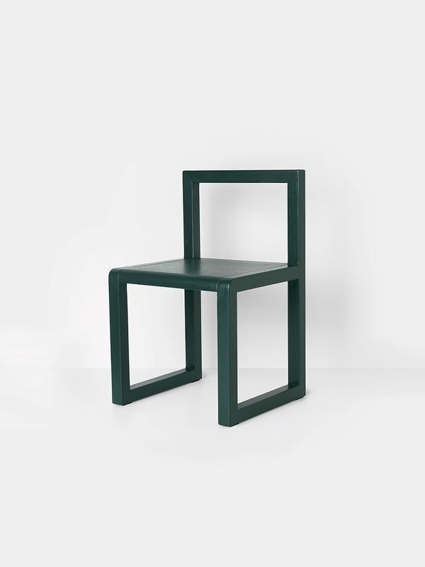 Ferm Living Little Architect Chair in Dark Green