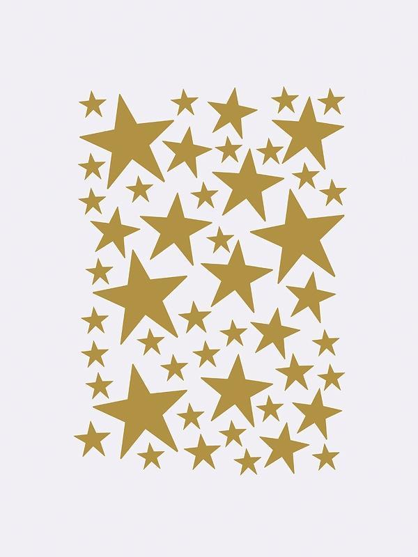 Ferm Living Mini Stars Wallstickers (Various Colours)