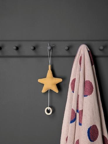 Ferm Living Music Mobile Star - Mustard