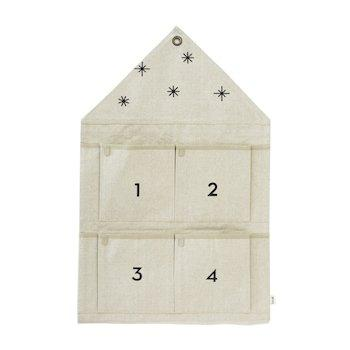 Ferm Living Star Advent Calendar - Sand